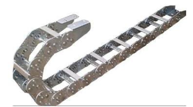 TL100型钢制拖链